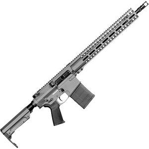 "CMMG Resolute 300 Mk3 Series .308 Winchester AR Style Semi Auto Rifle 16"" Barrel 20 Rounds CMMG RML15 M-LOK Hand Guard Cerakote Titanium"
