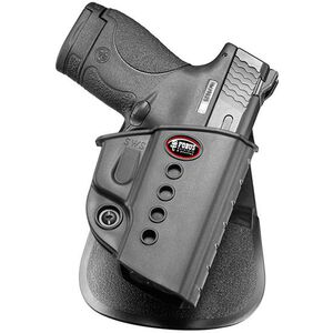 Fobus Evolution Holster S&W M&P Shield/Taurus 708,709/Walther PPS Right Hand Roto-Paddle Attachment Polymer Black