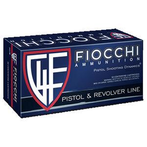 Fiocchi Pistol Shooting Dynamics .38 Special Ammunition 50 Rounds 148 Grain JHP Projectile 750 fps