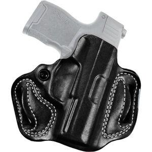 DeSantis Gunhide Mini Slide Springfield Hellcat Belt Holster Right Hand Leather Black