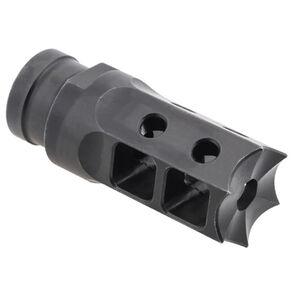 Next Level Armament NLX-7 AR-15 Compensator/Flash Suppressor Spiked Muzzle Device .22 Caliber Threaded 1/2x28 Matte Black