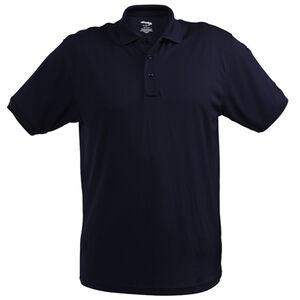 Elbeco UFX Ultra Light Men's Short Sleeve Polo 2XL 100% Polyester Swiss Pique Knit Midnight Navy