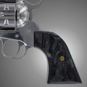 Hogue Scrimshaw Grips Ruger XR3 Blackhawk/Vaquero Polymer Back Pearl 79170