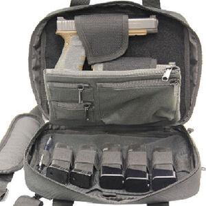 LeapersUTG Double Pistol Case Nylon Black PVC-PC05B