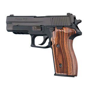 Hogue SIG P227 DA/SA Custom Grip Kingwood Checkered 47660