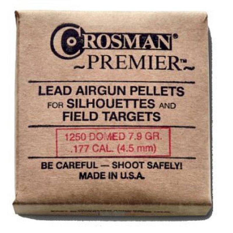 Crosman Premier Dome Airgun Pellets .177 Caliber 10.5 Grains 1250 Count 177HB