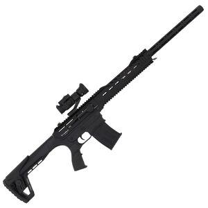 "IFC Radikal Arms MKX3 Combo 12 Gauge Semi Auto Shotgun 24"" Barrel 3"" Chamber 5 Round Magazine Vortex Strikefire II Optic Tactical Stock Matte Black"