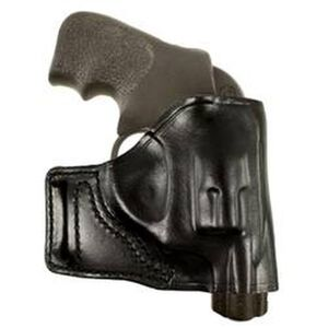 DeSantis Gunhide E-GAT Ruger LCR Belt Slide Holster Right Hand Leather Black 115BAN3Z0