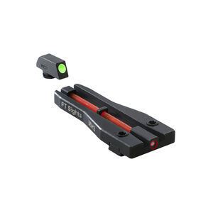 Meprolight FT Single Dot Glock Day And Night Sight Fiber-Tritium Red  ML63180R