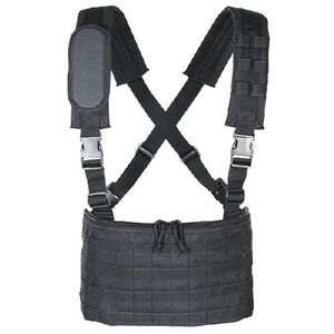 Voodoo Tactical MOLLE Mobile Chest Rig Nylon Black 20-001001000
