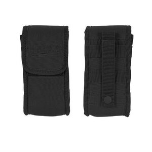 """Voodoo Tactical MOLLE Gas Mask/Utility Pouch 10"""" x 6"""" x 4"""" Quick Release Latch Nylon Black 012001000"""