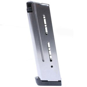 Wilson Combat 1911 Full Size Magazine .40 S&W 9 Rounds Stainless Steel 47FX