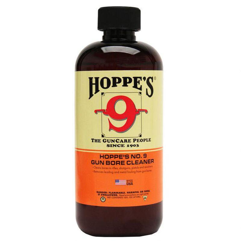 Hoppe's No. 9 Gun Bore Solvent Cleaner 16oz Pint Bottle 10 Pack