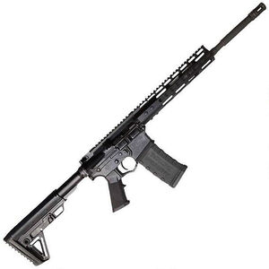 "ATI Omni Maxx P3P Hybrid AR-15 .300 AAC Blackout Semi Auto Rifle 16"" Barrel 30 Rounds KeyMod Hand Guard Nano Composite LPK Collapsible Stock Black"