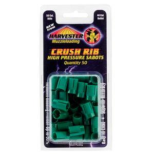Harvester Muzzleloading .50 Caliber Crushed Rib Sabot For .429-.430 Caliber Projectile 50 Count H15044GR