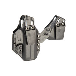 BLACKHAWK! Stache IWB Premium Kit Glock 19/19X/23/32/44/45 Ambi Holster Polymer Black
