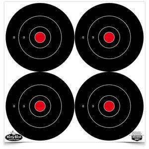 """Birchwood Casey 6"""" Bull's-eye Target 100 Count"""