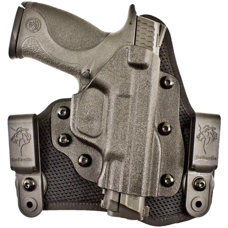 DeSantis Infiltrator AIR IWB Holster Fits Ruger LCR Right Hand  Kydex/Synthetic Black