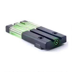 Mako Group Mepro FT Bullseye Micro Optic Pistol Sight Fiber Optic/Tritium Green SIG Sauer Models Alloy Housing Matte Black Finish