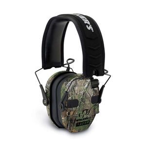 Walker's Game Ear Razor Slim Series Quad Electronic Adult Folding Earmuffs Realtree Xtra Camouflage