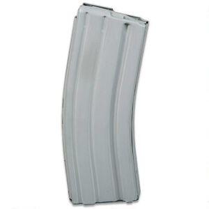 ASC AR-15 Magazine .223/5.56 30 Rounds Aluminum Gray Teflon 30-223-AL-GT-G-ASC