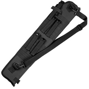 Red Rock Gear MOLLE Shotgun Scabbard MOLLE Webbing Padded 600D Polyester Black