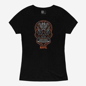 Magpul Sugar Skull Women's Short Sleeve T-Shirt Cotton/Poly