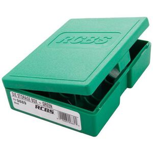 RCBS Die Storage Box Plastic Green 09889