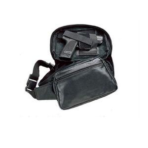 DeSantis Gunny Sack Fanny Pack Holster GLOCK 21 and Similar Semi Auto Handguns/Revolvers Ambidextrous Nylon Black