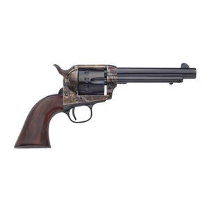 "Taylor's & Co 1873 Cattleman Revolver 22 LR 5.5"" Barrel 12 Rounds Walnut Grip Blued"