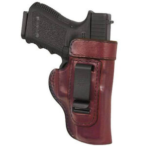 Don Hume H715M GLOCK 42 Clip On Inside the Pant Holster Right Hand Brown Leather J167105R