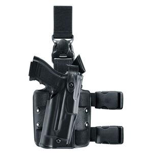 Safariland Model 6305 ALS/SLS Tactical Holster Right Hand Fits SIG P320 Fullsize 9/40 with Light Hardshell STX Tactical Black Finish