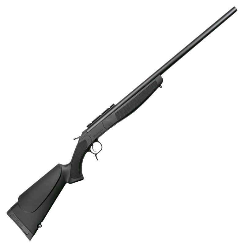 "CVA Scout .45-70 Government Single Shot Break Action Rifle 25"" Barrel DuraSight Scope Rail Mount Synthetic Forend/Stock Blued/Black Finish"