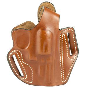 "DeSantis Thumb Break Scabbard Belt Holster S&W K Frame 2"" Barrel Right Hand Leather Tan Finish 001TA12Z0"