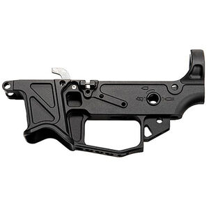 Battle Arms Development BAD-GS Billet Dedicated 9mm AR Stripped Lower Receiver 9mm Luger/.40 S&W Multi Caliber Marked Uses GLOCK Style Magazines Aluminum Black