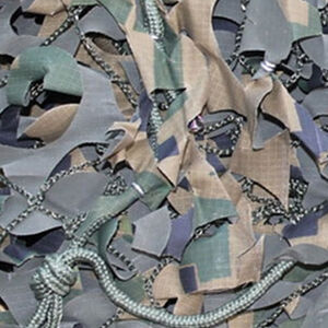 """Camo Unlimited Specialist Series Military Camo Netting 3-D Leaf 9'10""""x19'8"""" Ripstop with Mesh Digital Woodland"""