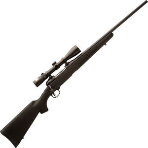 """Savage 11/111 Trophy Hunter XP Bolt Action Rifle .270 WSM 22"""" Barrel Length 2 Round Capacity Black Synthetic Stock with Nikon 3-9x40 BDC Reticle Scope Matte Finish 19685"""
