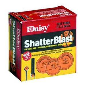 Daisy ShatterBlast Targets Clay 60 Pack 990873-616