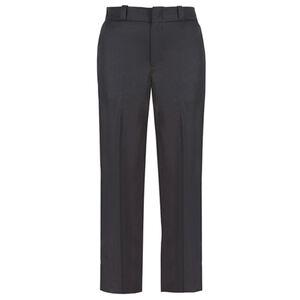 Elbeco TEXTROP2 Women's 4 Pocket Pants Size 14 Unhemmed Polyester Serge Weave Midnight Navy