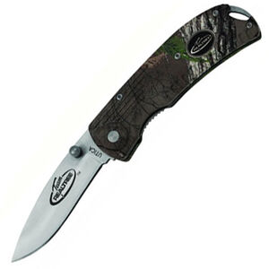 """Kutmaster Knives Open Assist Folding 3"""" Plain Edge Stainless Steel Blade with Zytel Handle Black"""