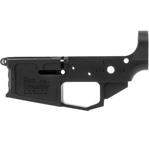 New Frontier C-4 AR-15 Stripped Lower Receiver .223/5.56 Multi-Caliber Marked Billet Aluminum Black