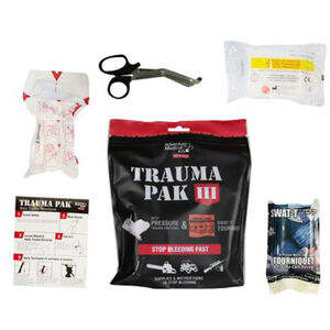 American Medical Kits Trauma Pak III with Dressing Bandage and SWAT-T Tourniquet