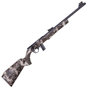 "Rossi RB22 .22 LR Bolt Action Rimfire Rifle 18"" Barrel 10 Rounds Adjustable Fiber Optic Sights Black/True Timber Viper Urban Camo Finish"
