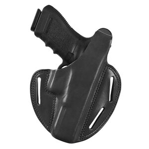 Bianchi Model 7 Shadow II SIG Sauer P239 Belt Holster Right Hand Leather Black 19536
