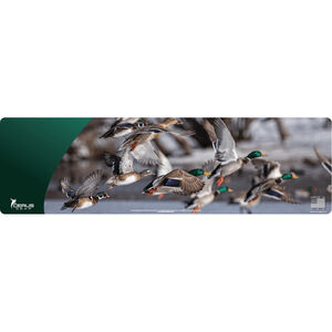 "Cerus Gear Wild Ducks Magnum XXL ProMat Handgun Size 14""x48"" Synthetic Full Color Ducks In Flight Image"