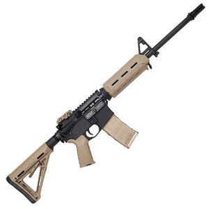 "DPMS MOE Warrior AR-15 Semi Auto Rifle 5.56 NATO 16"" Barrel 30 Rounds FDE Magpul MOE Furniture AAC Blackout Muzzle Device Aluminum Receivers Anodized Matte Black"