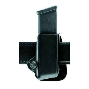 Safariland Model 74 Group 6 Beretta PX4, FN FNX 9/40, GLOCK 9mm and .40, S&W M&P 9/40, Springfield XD 9/40 Paddle Concealment Magazine Holder Right Hand STX Plain Black 074-83-411