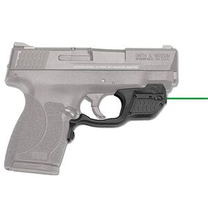 Crimson Trace Laserguard Smith & Wesson M&P 45 Shield Green Laser