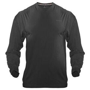 Medalist Men's Tactical Shield Long Sleeve Crew Shirt Polyester/Spandex Small Black M4625BLS
