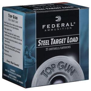 """Federal Top Gun Steel Target Load 20 Gauge Ammunition 2-3/4"""" Shell #7 Steel Shot 7/8 oz 1210 fps"""